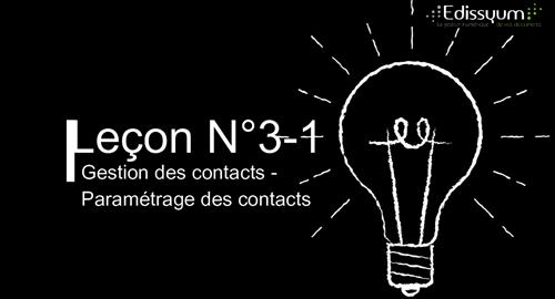 Tuto Maarch courrier : Gestion des contacts – Paramétrage des contacts