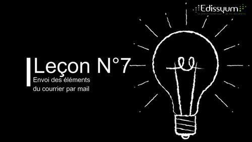 Les tutoriels Maarch courrier : Envoi des éléments du courrier par @mail
